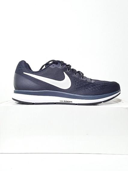 Tênis Nike Air Zoom Pegasus 34 Corrida Azul/preto N 39 40 42