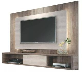 Mueble Panel Tv 32 A 50 Modular Rack 18mm Armado