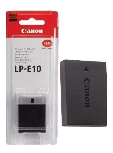 Bateria Canon Lp-e10 Original Eos 1100d 1200d 1300d T3 T5 T6