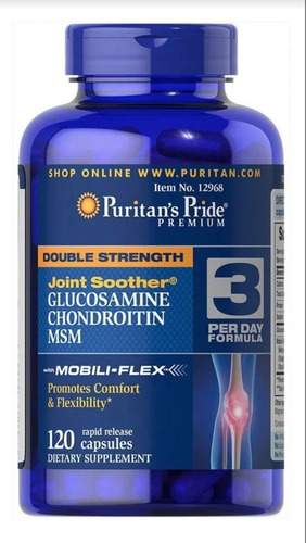 Glucosamine Chondroitin Msm With Co - Unidad a $604