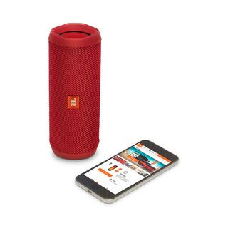 Parlante Portatil Jbl Flip 4 Bluetooth Android iPhone Rojo