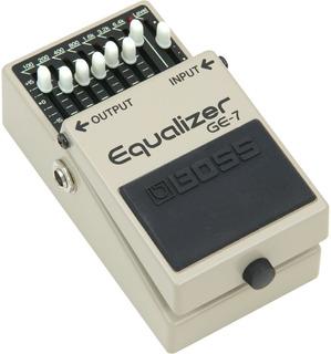 Boss Ge 7 Guitar Equalizer 7 Band Pedal Guitarra