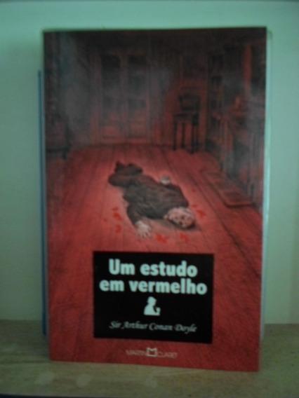 Livro Um Estudo Em Vermelho - Sir Arthur Conan Doyle