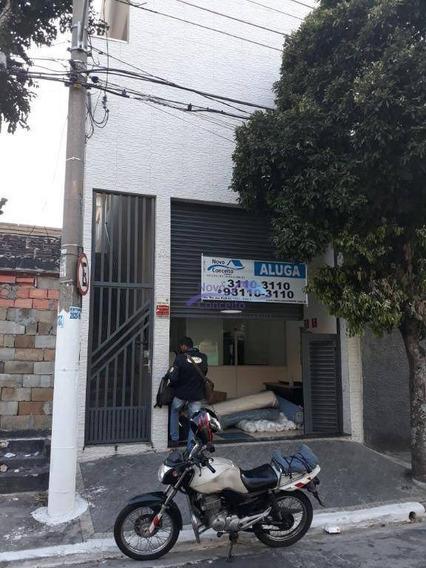 Salão Para Alugar, 160 M² Por R$ 1.950,00/mês - Jardim Aricanduva - São Paulo/sp - Sl0046