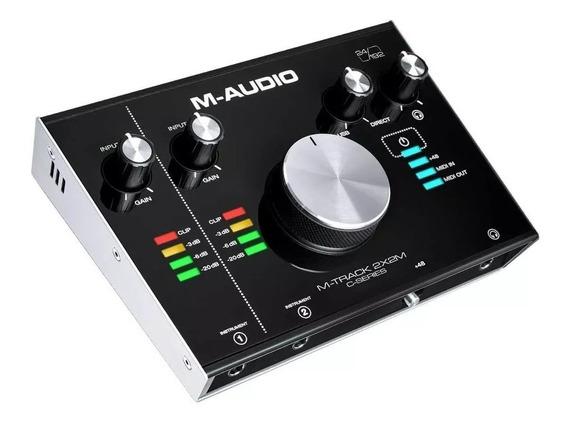 Interface De Áudio Midi Usb M-track 2x2m M-audio M-track2x2m