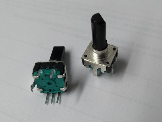 Potenciometro Encoder Efeitos Mesa Behringer 5 Pinos Click