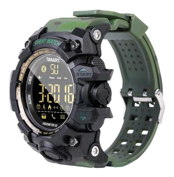Relógio Multifunções Lokmat Ex16s Tático Militar Esportivo