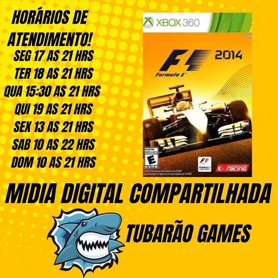F1 2014 Mídia Digital Xbox 360-leia A Descrição