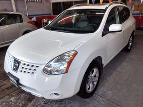Nissan Rogue 2.5 Sl Awd Impecable Perlada Quemacocos Piel