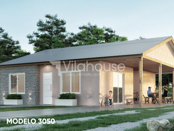 Vilahouse Casas Prefabricadas - Modelo 3050 3dorm 1 Baño