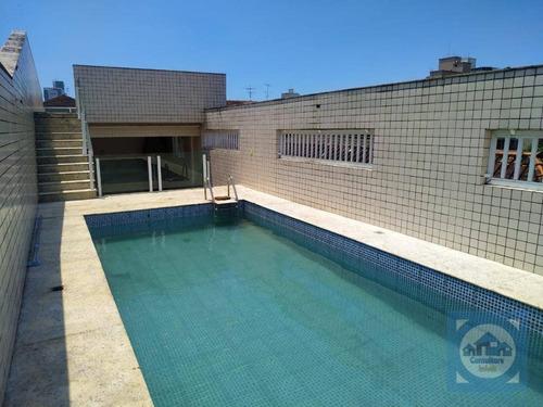 Casa Com 4 Dormitórios À Venda, 300 M² Por R$ 1.130.000,00 - Marapé - Santos/sp - Ca1210