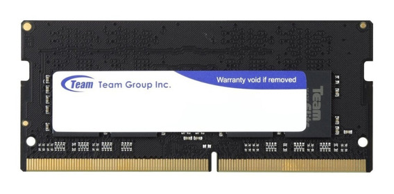 Memoria Sodimm Team Elite 8gb Ddr3l 1600mhz Notebook