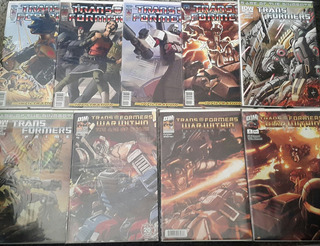 Idw - Transformers Infiltration Y Rage Dinobots (17 Comic)