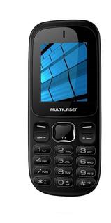 Celular Multilaser Up 2 Chips 3g Bluetooth Mp3 P9017 - Preto