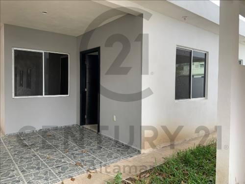 Venta De Casa Nueva De Un Piso, Col. Lucio Blanco, Ciudad Madero, Tamaulipas.