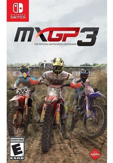 Mxgp 3 The Official Motocross Video Game -nintendo Switch