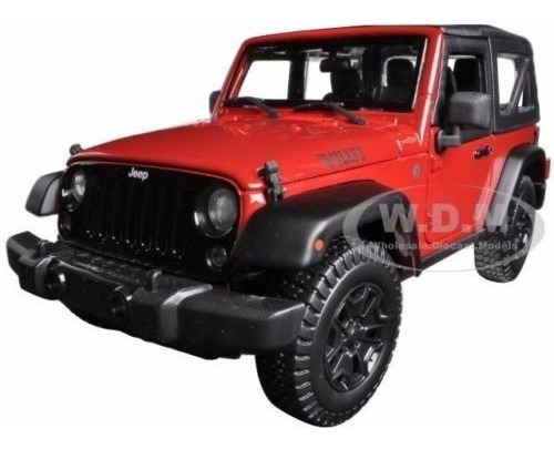 2014 Jeep Wrangler Willys Red - A Pedido_exkarg