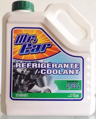 Refrigerante/coolant Mr. Car
