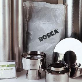 Kit De Instalación Ignífugo Cocina Calefactor K350 Bosca M M