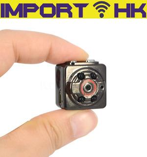 Mini Camara Espia Fhd Deportes Sq8 Vision Nocturna Micro Sd