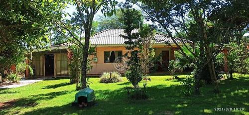 Chácara Com 5 Dormitórios À Venda, 24200 M² Por R$ 1.600.000 - Gleba Passo Cuê - Foz Do Iguaçu/pr - Ch0029