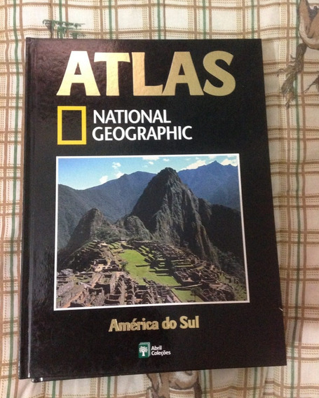 Atlas National Geographic América Do Sul