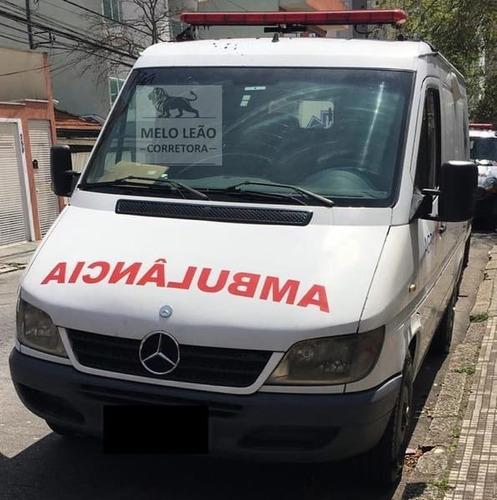Sprinter Ambulância Simples Remoção - 08/08