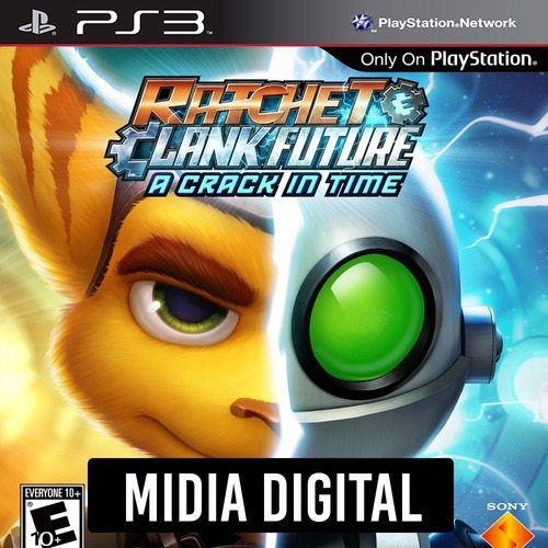 Ratchet And Clank Future: A Crack In Time - Ps3 Psn*