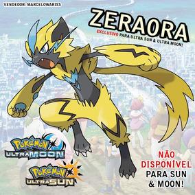 Disponível! Pokémon Zeraora (exclusivo Ultra Sun Ultra Moon)