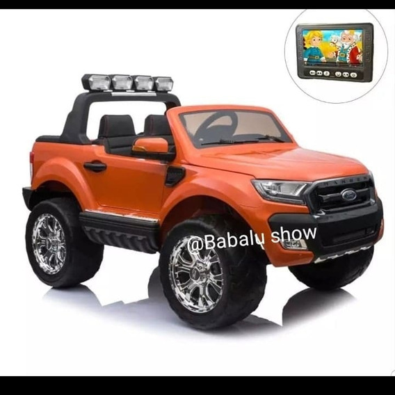 Carrinho Eletrico Infantil Ford Rangerf650 4x4 Gratis Bateri
