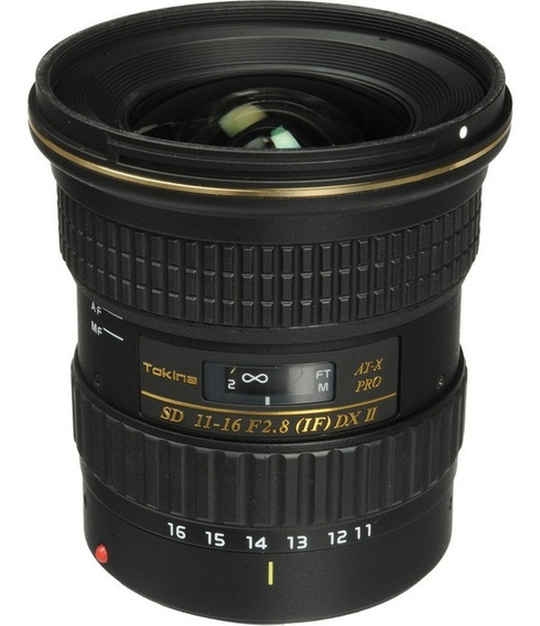 Objetiva Tokina At-x 11-16mm F2.8 Pro Dx Ii Para Canon