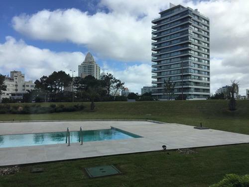 Imagen 1 de 14 de Monoambiente Dividido En Torre One 2 A Metros De Playa Brava
