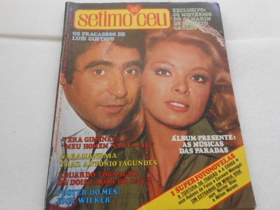 Revista Sétimo Céu Nº 42 Fotonovela E Roberto Carlos Etc