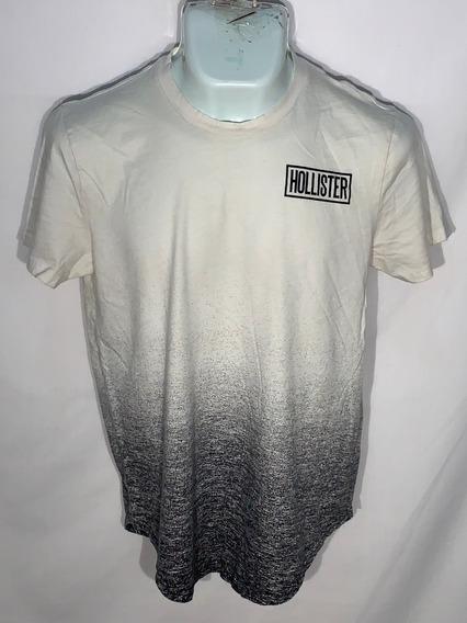 Playera M Hollister Id D300 Usada Detalle Hombre 4x3 O -10%