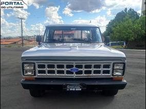 Ford F-1000 - Carroceria De Madeira - 1979 - Ú Dono, Diesel
