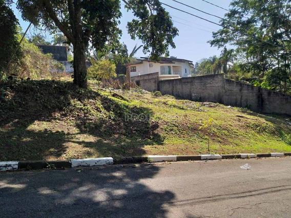 Lindo Terreno Em Condomínio Na Granja Viana. - Te8946