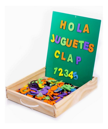 Imagen 1 de 1 de Caja Didáctica Letras Y Números