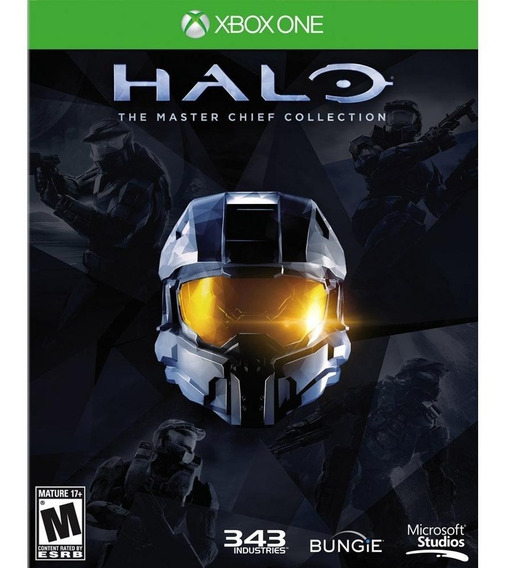 Halo The Master Chief Collection Xbox One Lacrado Física