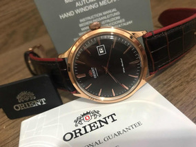Orient Bambino Version 4 Automatic Brown Dial Fac08001t0