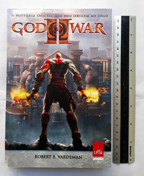 Livro God Of War Ii Robert Vardeman História Oficial Jogo