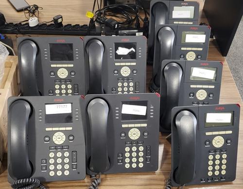 Imagem 1 de 1 de Kit Com 8x Telefone Ip Avaya Composto Por 4x 9620 + 4x 9611g