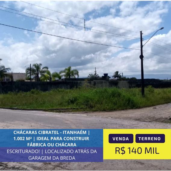 Terreno Em Local Ideal Para Fábrica Em Itanhaém Litoral Sp