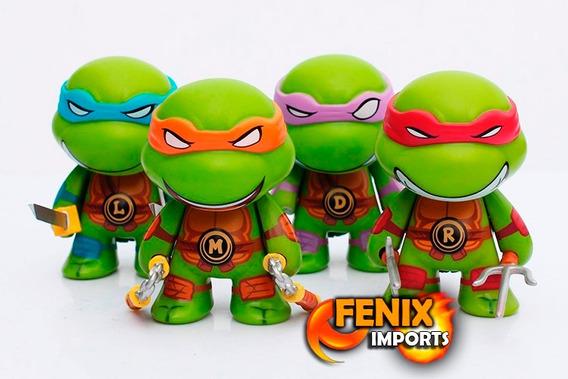 Tartarugas Ninjas Kit 4 Bonecos - Bonecos Tartaruga Ninja