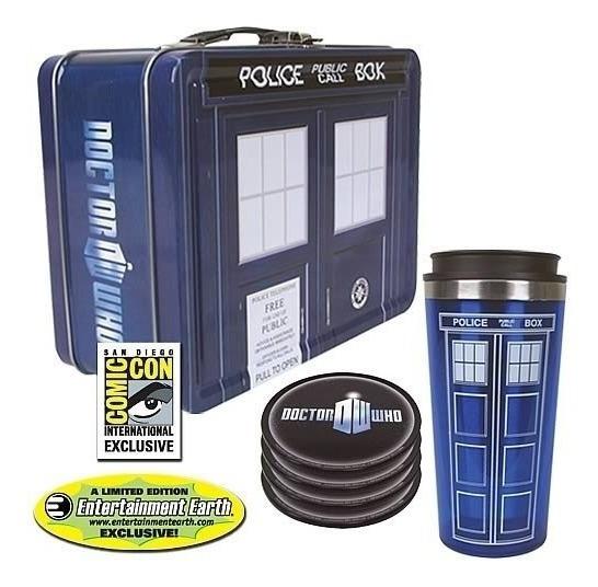 Juego De Regalo De Lata Doctor Who Tardis - Exclusivo De Sdc