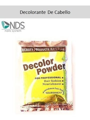 Un Polvo Decolorante Azul Para Cabello Powder 20 G