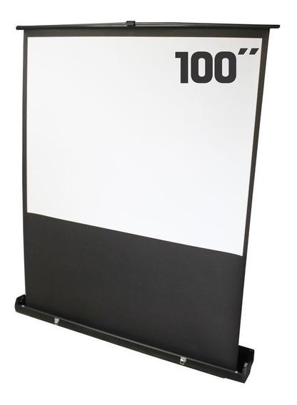 Tela De Projeção 100 Polegadas Portátil - Csr