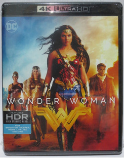 Mujer Maravilla Wonder Woman Pelicula 4k Ultra Hd + Blu-ray