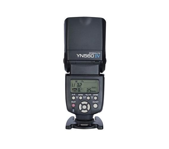 Novo Flash Yongnuo Yn 560lv Para Canon, Nikon
