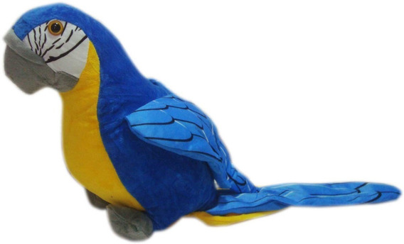 Arara De Pelucia Antialergica Aves De Pelucia