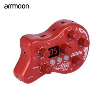 Ammoon Pockrock Portátil Pedal Efecto Del Procesador 15